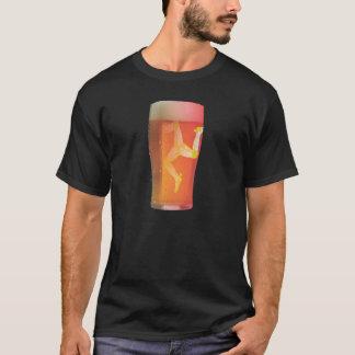 Camiseta Ilha da cerveja do homem: ADICIONE SEU PRÓPRIO