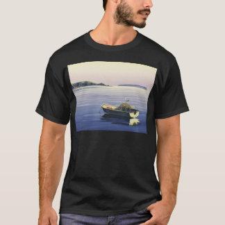 Camiseta Ilha da primeira luz - Plimmerton, & do Mana