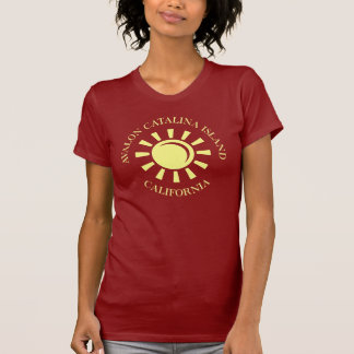 Camiseta Ilha de Avalon Catalina, Califórnia
