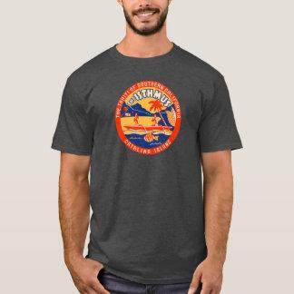 Camiseta Ilha de Catalina do papai noel - dois portos - o