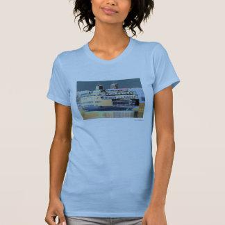 Camiseta Ilha de San Juan da balsa do porto de sexta-feira