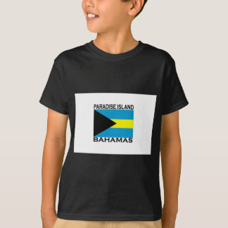 Camiseta Ilha do paraíso, Bahamas