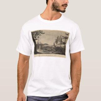 Camiseta Ilha dos pinhos, Nova Caledônia