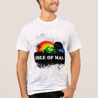 Camiseta Ilha frutado bonito do homem