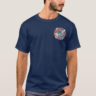 Camiseta Ilha grande Louisiana da estação da guarda