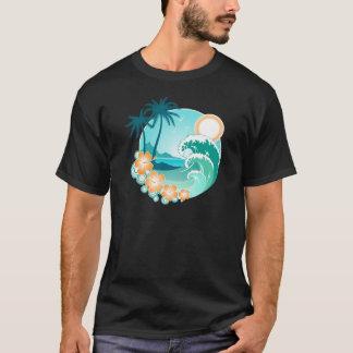 Camiseta Ilha havaiana 1