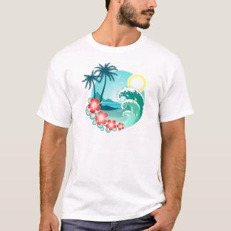 Camiseta Ilha havaiana 2