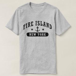 Camiseta Ilha New York do fogo