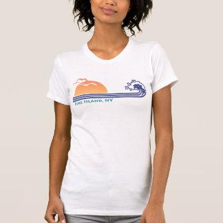 Camiseta Ilha NY do fogo