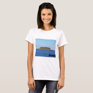 Camiseta ilha pelo ibiza escanar da praia