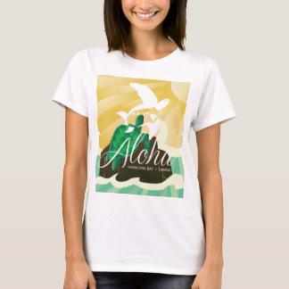 Camiseta Ilhas de Havaí e tartaruga 180