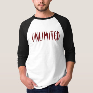 Camiseta Ilimitado - personalizado