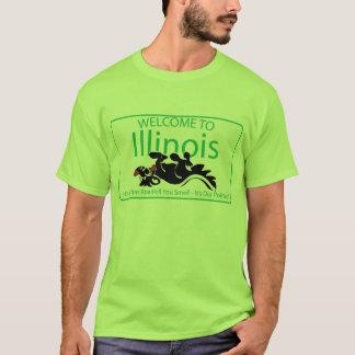 Camiseta Illinois Roadkill