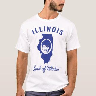 Camiseta Illinois - terra de Winkin