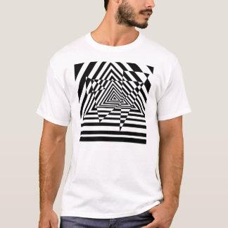 Camiseta Ilusão de tentativa do casino dos triângulos