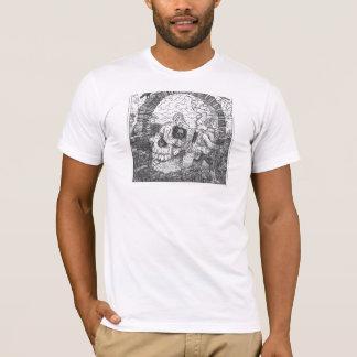 Camiseta Ilusão do crânio & do arco