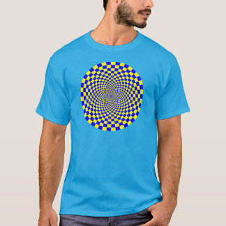 Camiseta Ilusão óptica hipnótica