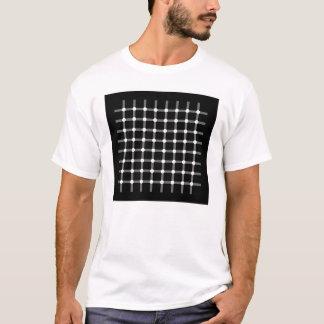 Camiseta Ilusão - pontos pretos