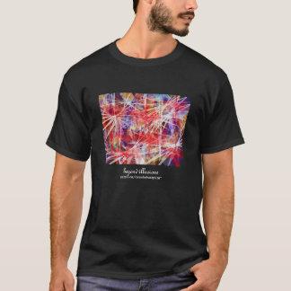 Camiseta Ilusões do ~Beyond do t-shirt dos homens