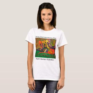 Camiseta Ilustração abstrata C. de Digitas