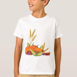 Camiseta Ilustração da colheita da queda