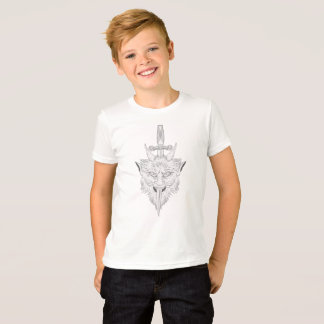 Camiseta Ilustração da gárgula