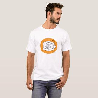 Camiseta ilustração da impressora 3D