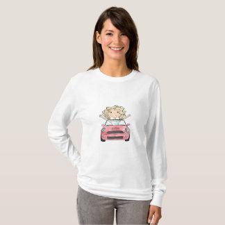 Camiseta Ilustração da viagem por estrada