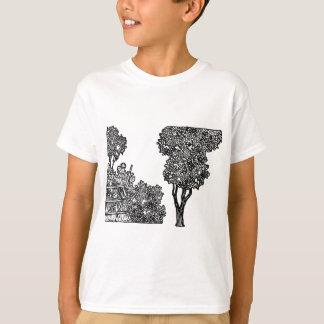 Camiseta Ilustração das árvores