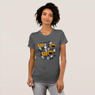 Camiseta Ilustração das criaturas do Dia das Bruxas
