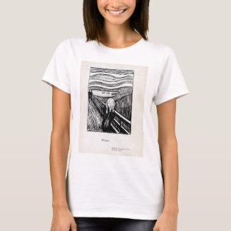 Camiseta Ilustração de Edvard Munch o gritar