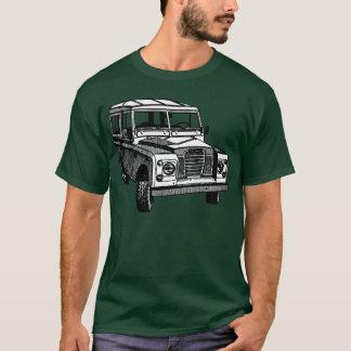 Camiseta Ilustração de Land Rover do vintage