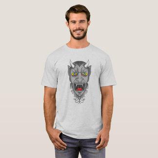 Camiseta Ilustração de riso do diabo
