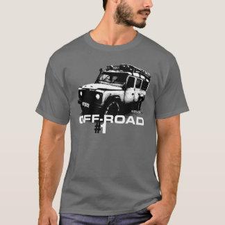 Camiseta Ilustração do defensor de Land Rover