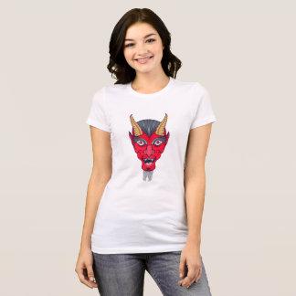 Camiseta Ilustração do diabo vermelho
