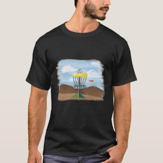Camiseta Ilustração do golfe do disco