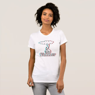 Camiseta Ilustração do pecador