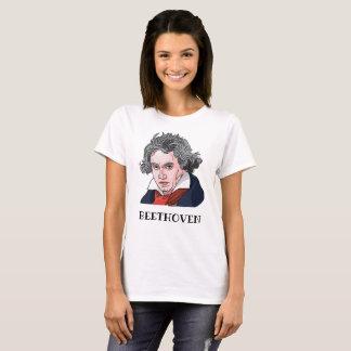 Camiseta Ilustração do retrato de Beethoven