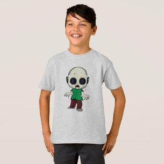 Camiseta Ilustração do zombi