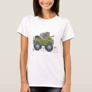 Camiseta Ilustração dos desenhos animados de um elefante