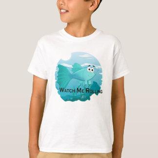 Camiseta Ilustração dos peixes do Guppy
