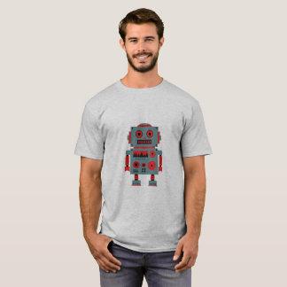 Camiseta Ilustração dum robot em alpargata