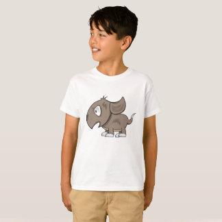 Camiseta Ilustração irritadiço do filhote de cachorro