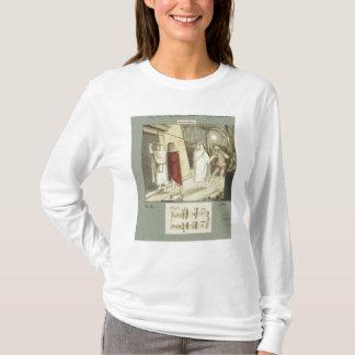 """Camiseta Ilustração para a flauta mágica de Mozart """""""", 1845"""