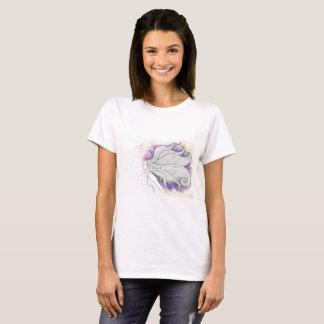 Camiseta Ilustração sonhadora no impressão do t-shirt
