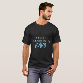Camiseta Im ciente que Tshirt Im raro