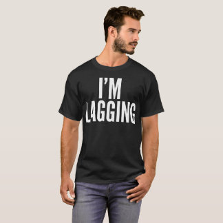 Camiseta Im t-shirt de retardamento da tipografia