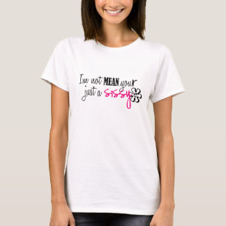 Camiseta iM UR nao médio apenas um t-shirt das mariquinhas