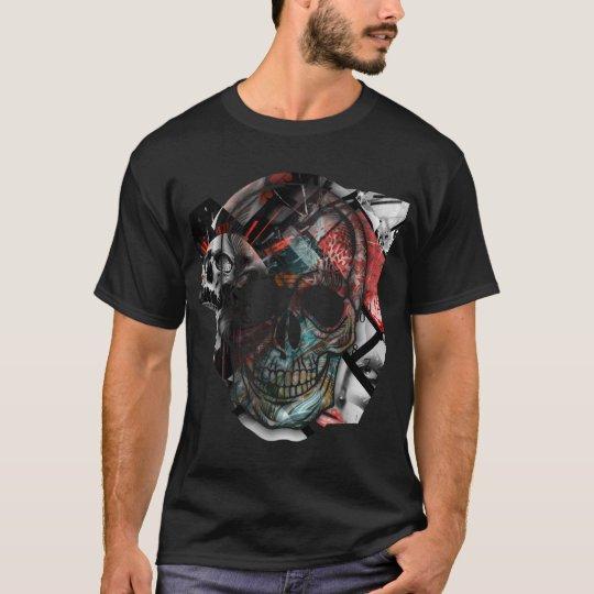 Camiseta Image Skull Time