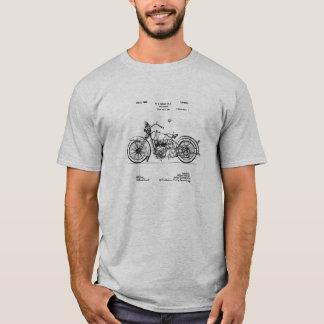 Camiseta Imagem 1928 da patente do ciclo de Harley